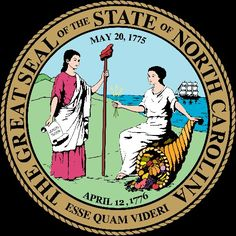 North Carolina State Information Symbols Capital Constitution