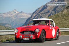 Austin-Healey 3000 Works Rally Replica (1960) - am British Classic Car Meeting St. Moritz 2015. © Bruno von Rotz für Zwischengas