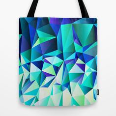 Green & Navy No. 2 Tote Bag by House of Jennifer - $22.00