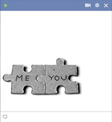 Are you both made for each other? Let them know with this emoticon that you fit…
