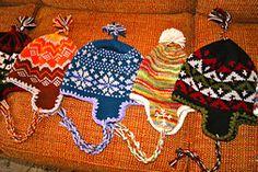 Ravelry: Ann's Earflap Hats pattern by Ann Konzen - Free Pattern