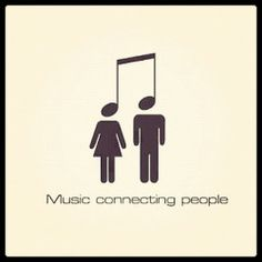 Music connects people. <3 Music Classroom, Classroom Themes, Coffee Music, Burning Love, Deep Thinking, Hip Hop Rap, No One Loves Me, My Music, First Love