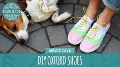 DIY Oxford Shoes - White Shoes Challenge Week - HGTV Handmade