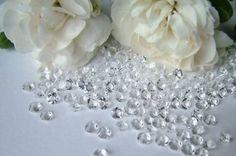 #Borddekoration - fuldføre udseendet af dit bryllup #bordpynt med vores udvalg af konfetti og #tema #bryllup #konfetti.