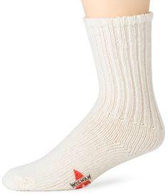 Wigwam Men's Husky Sock Wigwam. $9.59. Stays put naturally. Machine Wash. 70% Wool, 30% Nylon. The original homespun wool athletic sock. Machine washable and dry. nylon. Made In The Usa