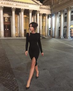 18 Outfits With Black Bodycon Dresses Elegant Outfit, Classy Dress, Classy Outfits, Elegant Dresses, Stylish Outfits, Cute Dresses, Little Black Dress Classy, Sexy Dresses, Night Out Outfit Classy