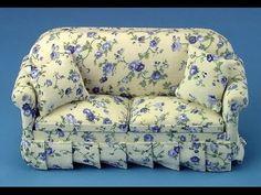 Диван и кресла для кукол Барби / Sofa and chairs for dolls Barbie - YouTube