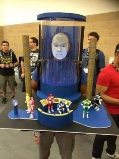 Power Rangers cosplay level BOSS