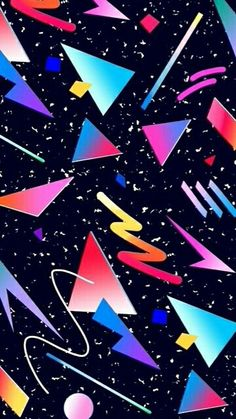 Crazy retro 80's phone wallpaper #80s #retro #iphone # ...