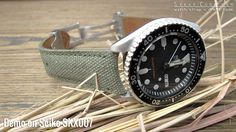 Hot picks of the week | Canvas watch strap for Seiko SKX007 | strapcode