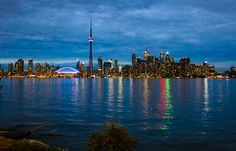 I've been to Toronto quite a few times, and I've been in the airport to transfer flights more times than I can count! I'm pretty sure I could navigate it blindfolded by now. The Places Youll Go, Places To See, Skyline Art, World Cities, Most Beautiful Cities, Toronto Canada, Places To Travel, Travel Inspiration, Cool Photos