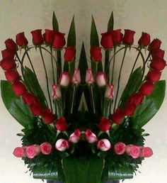 Heart shaped rose display – Valentine's Day Valentine Flower Arrangements, Funeral Flower Arrangements, Rose Arrangements, Valentines Flowers, Altar Flowers, Church Flowers, Funeral Flowers, Silk Flowers, Deco Floral