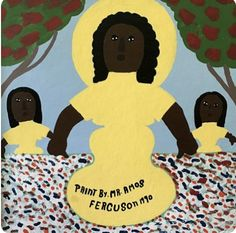 Amos Ferguson (Bahamas, 1920 - was a house painter by profession who began painting when he was a boy. He received a vision from God in a dream; House Painter, Outsider Art, Mother And Child, Painting & Drawing, Scooby Doo, Folk, Stationery, Disney Princess, Disney Characters