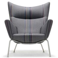 Wegner CH445 Wing Chair - Paul Smith Edition.  $7,230.