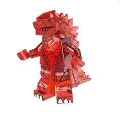 Godzilla Horror Movie Minifigures Sci-fi Monster Rare Lego Gift Building Toys   eBay