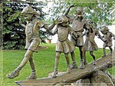 Parar da viagem por estrada. Benson Jardim do parque de Escultura em Loveland, CO. KS. #VolvoJoyride - / Road Trip Stop.  Benson Park Sculpture Garden in Loveland, CO.  KS. #VolvoJoyride. -