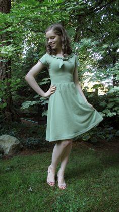 Indie Pattern Month: Colette Moneta Dress | The Monthly Stitch