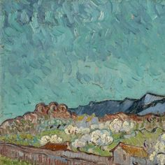 View of the Alpilles  Vincent van Gogh, 1889