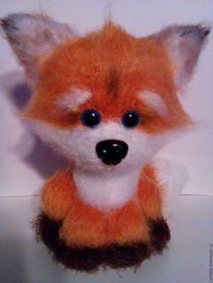Купить Лисёнок - рыжий, мягкая игрушка, подарок, сувениры и подарки, лисенок, игрушка ручной работы
