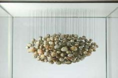 """""""Suspended Stone Series - Stone Cloud"""" artwork by Ken Unsworth   Boutwell Draper Gallery, Sydney"""