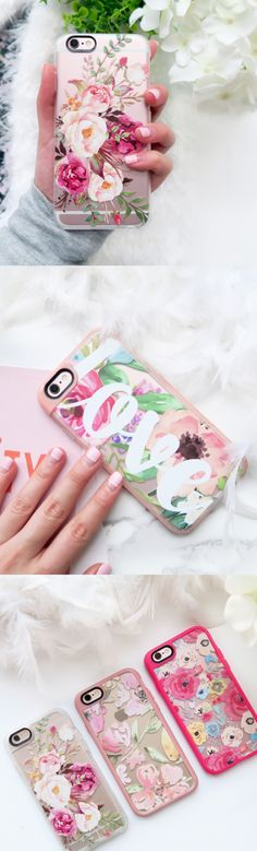 Most favourite floral print iPhone 6 protective phone case designs | Click through to see more iPhone 6 protective phone case designs from our marble collection >>> https://www.casetify.com/artworks/2Hvbsxf4ci #floralprint | @casetify