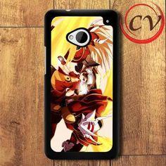 Digimon HTC One M7 Black Case