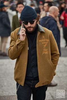 The Best Street Style From Pitti Uomo A/W 2019 - The Trend Spotter Source by lorenzocaminiti Fashion Cool Street Fashion, Look Fashion, Mens Fashion, Fashion Photo, Mens Athletic Fashion, Outfits Hombre, Winter Outfits Men, Mode Streetwear, Men Street