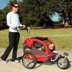 Solvit HoundAbout Pet Stroller, Medium, Garnet Red Unlike other pet strollers which are simply converted 'baby strollers', the new HoundAbout™️ Read  more http://dogpoundspot.com/dog-luxury-store-1581/  Visit http://dogpoundspot.com for more dog review products