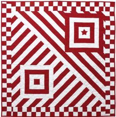 Free Quilt Patterns.  Stripes.   FaveQuilts.com