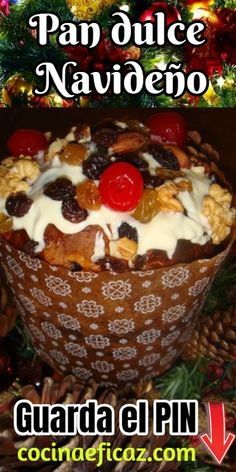 Today we teach you to make a delicious Christmas sweet bread. - Today we teach you to make a delicious Christmas sweet bread. The holidays are approaching and it i - Mexican Bakery, Mexican Bread, Mexican Lasagna With Tortillas, Pozole, Christmas Cake Recipe Traditional, Mexican Dinner Recipes, Pan Bread, Xmas Food, Sweet Bread