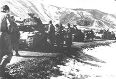 German 7th SS division in Hercegovina during Operation Weiss, Bosnia, 1943