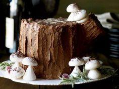 Chocolate-Malt Stump de Noël Recipe   http://aol.it/1EWqJRG
