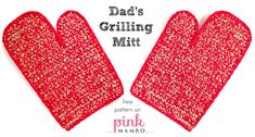 With Father's Day just around the corner on June 15, you still have time to make dear old Dad a crocheted gift he'll really use! Wish Dad a happy Father's Day with one or a pair of these stu...