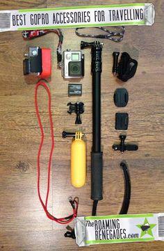 Best GoPro Accessories for travel & Adventure >  http://www.theroamingrenegades.com/2016/01/best-gopro-accessories-for-travel-and-adventure.html