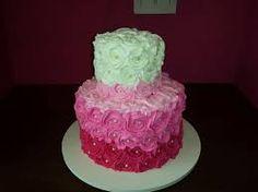 Resultado de imagem para bolo fake imitando glace branco