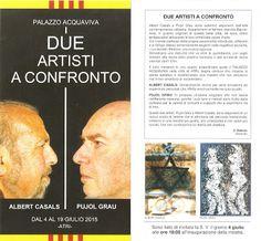 Il Magazine di UT: Una mostra che vale la pena... Albert Casals e Pujol Grau a Atri