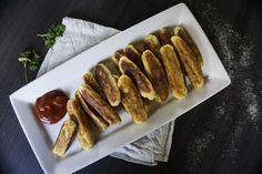 Vegane Panzarotti - italienische Kartoffelkroketten - schmecken wahnsinnig lecker und funktioneren auch vegan wunderbar und sind schnell gemacht.