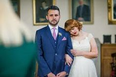 Google Image Result for http://wedding-pictures.onewed.com/match/images/175471/bright-navy-grooms-suit-with-pink-tie-and-pocket-square.full....