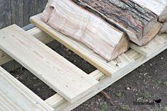 homeroad: DIY Log Holder