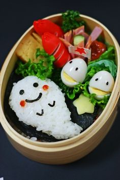 Halloween-themed Kawaii Bento Lunch|ハロウィーン弁当 sooo cute ♥
