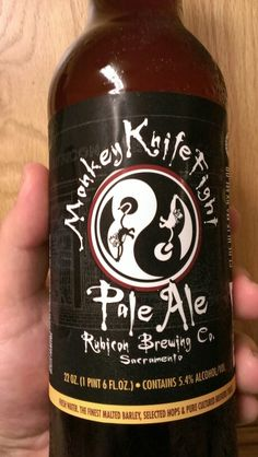 Rubicon Brewing Company Monkey Knife Fight Pale Ale
