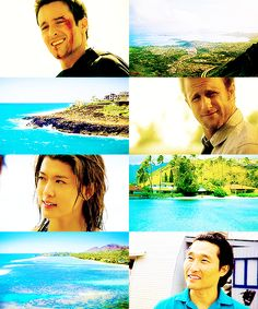 I love the colors in this, but why is Steve the only one with blood on his face?!?! Hawaii Five-0