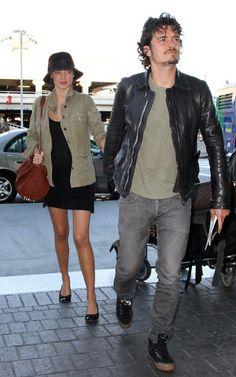 Orlando Bloom in Dior Homme jeans # men's fashion #denim pants # medium wash # grey colour # straight fit #