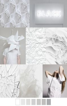 WHITE OUT. Fashion trends. Color and pattern palette. For more follow www.pinterest.com/ninayay and stay positively #inspired