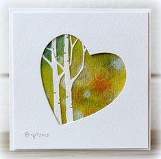 CAS220 TLC429 Bokeh Love by Biggan - Cards and Paper Crafts at Splitcoaststampers