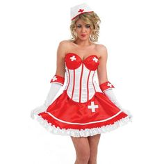 The fancy dress costumes go a long way in adding a spicy twist to a party equally for an adult party or a children's party. Ladies Fancy Dress, Hospital Doctor, Sexy Dresses, Summer Dresses, Sexy Nurse, Childrens Party, Holiday Fun