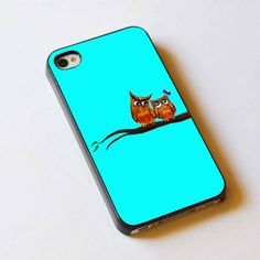 Cute owls For Apple Phone, IPhone 4/4S Case,