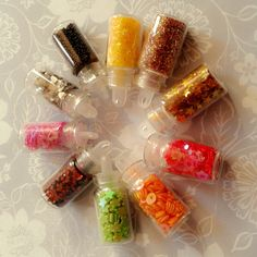 10in1 Mini Bottle Nail Art Set. 50rb isi 10 botol 1 mini bottle Caviar 1 mini bottle Glitter powder 1 mini bottle Glitter short strip 1 mini bottle Glitter hollow star 1 mini bottle Glitter hollow heart 1 mini bottle Glitter heart 1 mini bottle Glitter round ring 1 mini bottle Glitter flower 1 mini bottle Glitter hexagon 1 mini bottle Glitter star  Order:  Sms 083847883327 Bbm 518d90cf Line ohonlineshop  #nailart #nailartdecoration #nailartsupplier #jualnailart #glitter #caviarnailart… Caviar Nails, Glitter Shorts, Nail Art Set, Hollow Heart, Glitter Flowers, Nail Art Supplies, Mini Bottles, Voss Bottle, Nailart