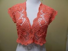 Bolero Primavera verano Crochet | Patrones gratis