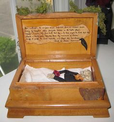 AlTerEd aRt TOmB OF THE rAvEn EdGaR A pOe by SauvageRavenCreation, $22.50